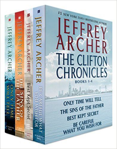 The Clifton Chronicles, Books 1-4: Only Time Will Tell; The Sins of the Father; Best Kept Secret; Be Careful What You Wish For - Kindle edition by Jeffrey Archer. Literature & Fiction Kindle eBooks @ Amazon.com.