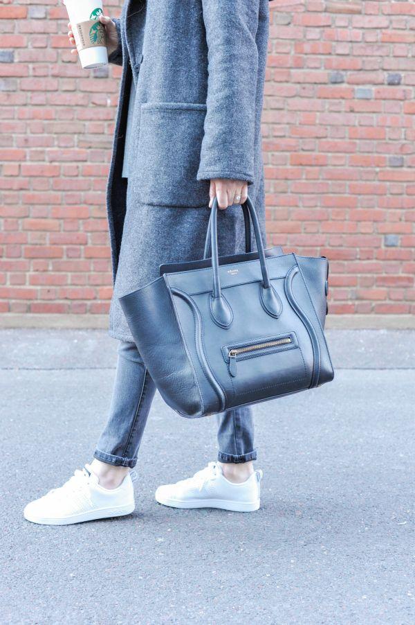 e839e6330aa Adidas VS Advantage Clean Adidas Neo Advantage, Hooded Wool Coat, White  Sneakers, White