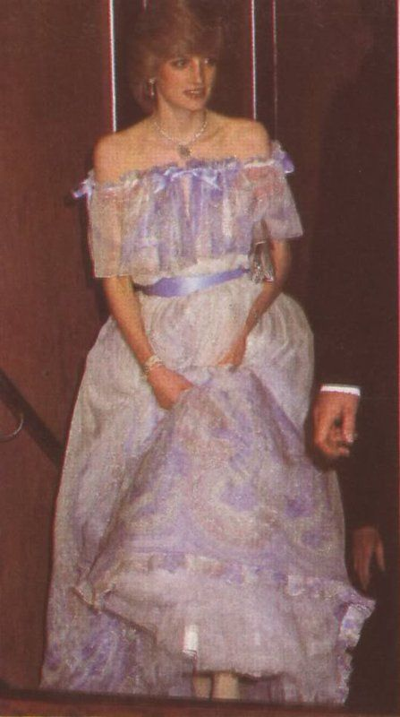 "December 2, 1982: Princess Diana arrives at the Premiere of Sir Richard Attenborough's film, ""Gandhi"" at the Odeon Cinema, Leicester Square, London."