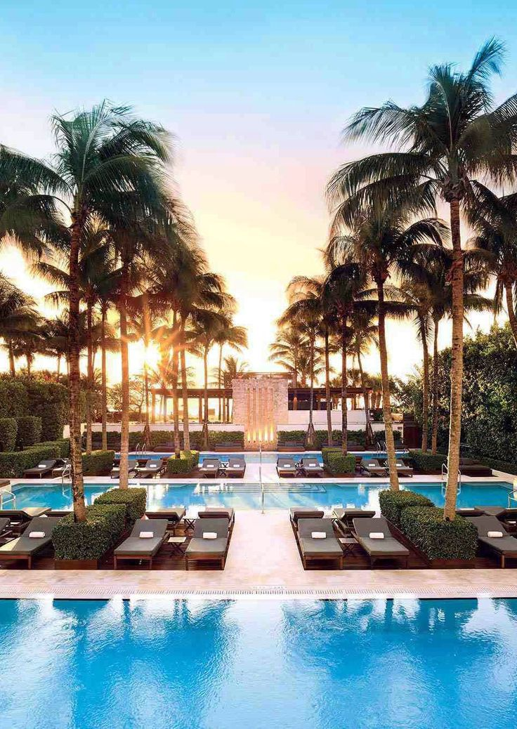 hotel con centro benessere Setai miami beach pool