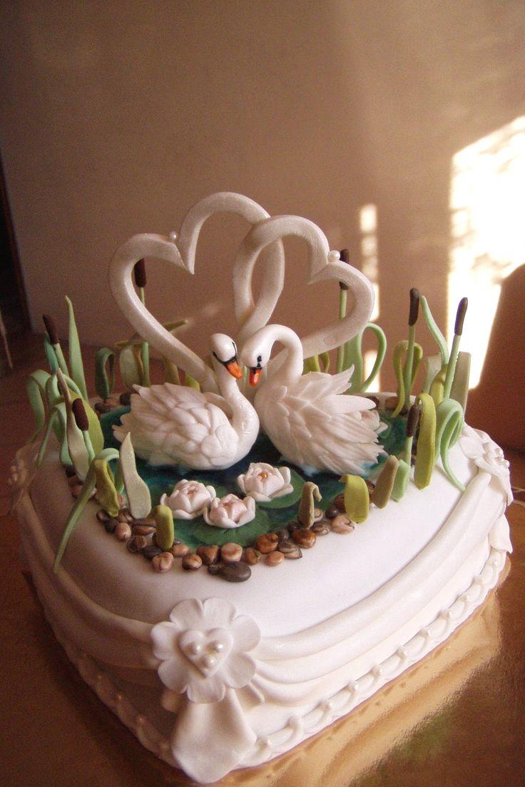 модель фото лебедей на торт придумали игру про