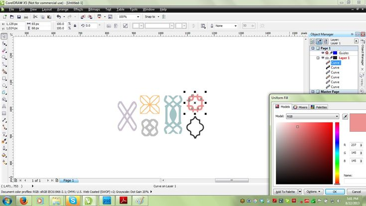 How To Vectorize An Image Using Coreldraw Creating Clip
