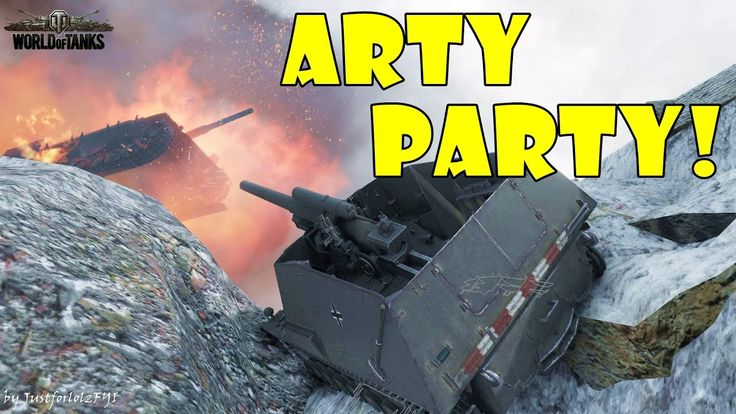 World of Tanks - Funny Moments | ARTY PARTY! #22