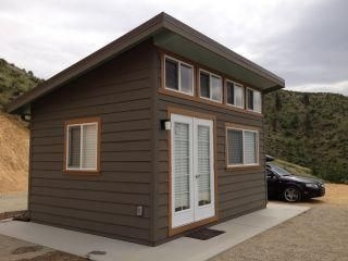 Slant Roof Custom Built Garden Shed Mother In Law Home