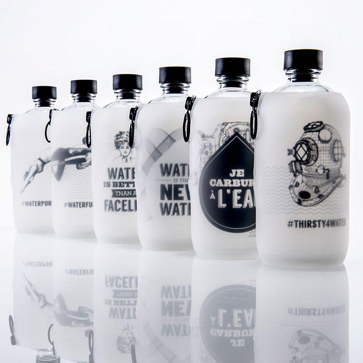 citiesocial – LAB [O] 水系列玻璃水瓶 - Facelift