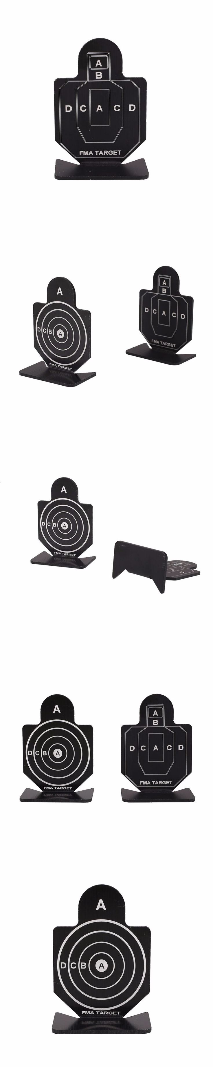 Metal Airsoft Hunting Aim Shooting Target Set Archery Training Practice Accessory