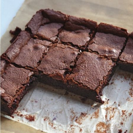 Great British Bake Off Recipe: Easy chocolate brownie tray bake - Evening Bag Recipes - handbag.com