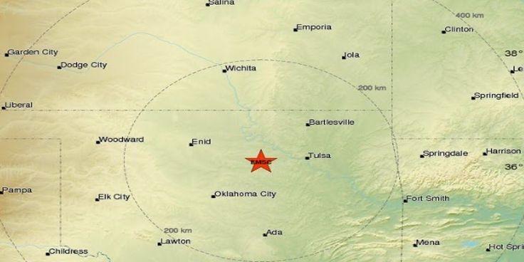 Σεισμική δόνηση 4,9R στην Οκλαχόμα