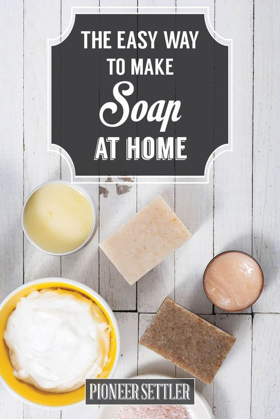 cool How to Make Lye Free Soap