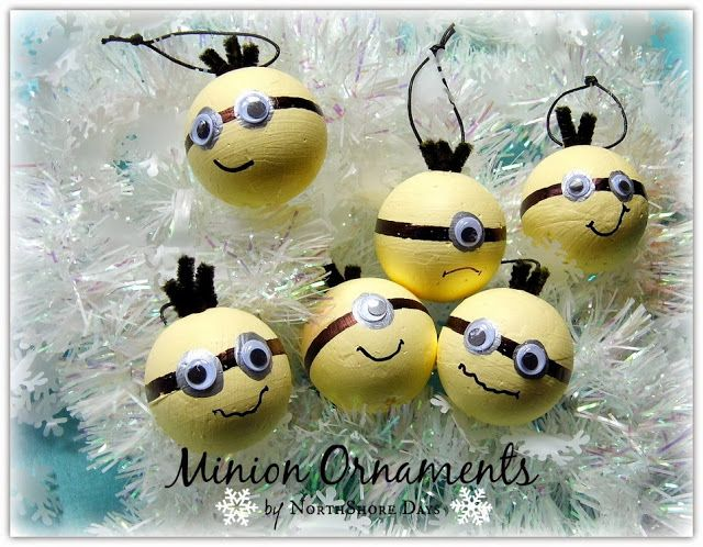NorthShore Days.....: Days of Christmas - Minion Ornaments