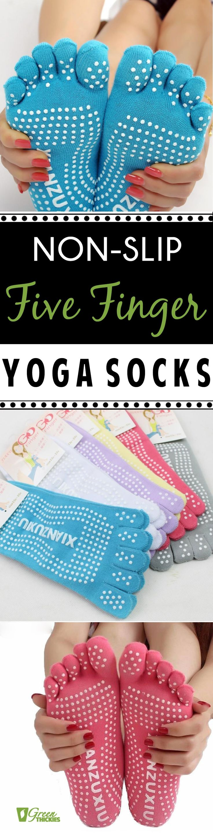 34 best green smoothie books and courses images on pinterest green get 70 off this non slip five finger yoga socks today only get fandeluxe Image collections