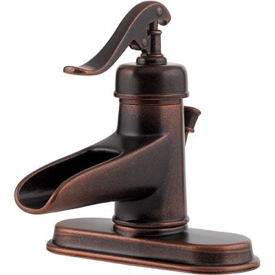 neat faucet for my rustic bathroom