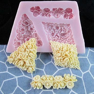 die besten 25 blumen aus fondant ideen auf pinterest rosa kochparties hochzeitstorte 7. Black Bedroom Furniture Sets. Home Design Ideas
