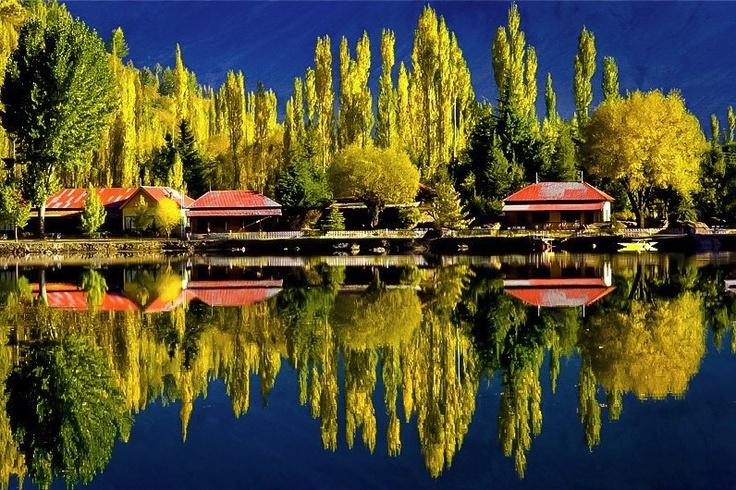 Shangrila Resorts at Kachura Lake, Pakistan
