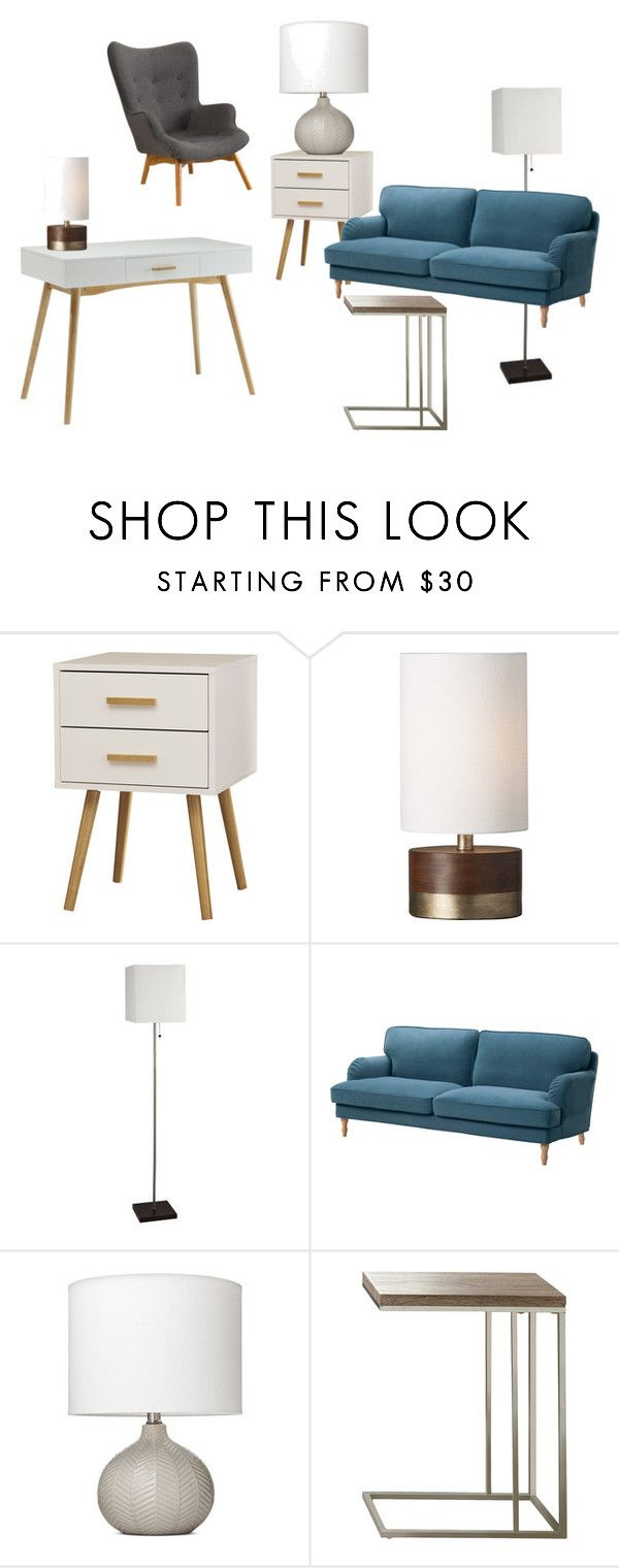 Threshold home decor shop for threshold home decor on polyvore -  Office Look 3 By Jessicacrain On Polyvore Featuring Interior Interiors Interior Design Office Looksoffice Decorhome