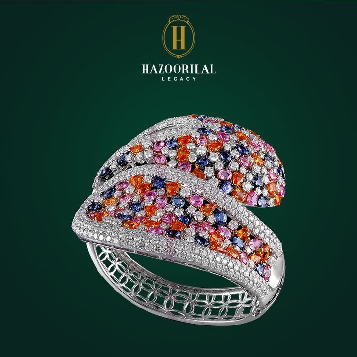An ode to the colors of Spring. #HazoorilalLegacy #Hazoorilal #Jewelry #Bracelet