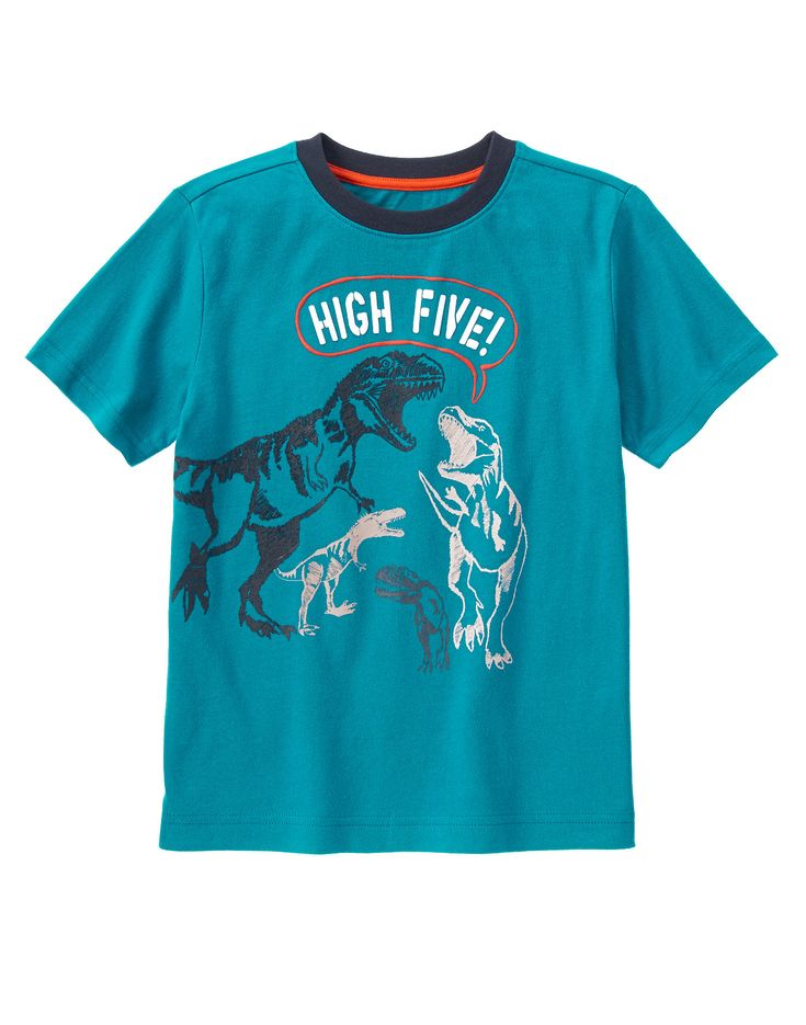 @binspiredmama's son enjoys the magic of play in this T. Tex High Five Tee, which is part of the new Gymboree #HopNRoll collection of mix & match styles made to keep up with the rhythm of play.