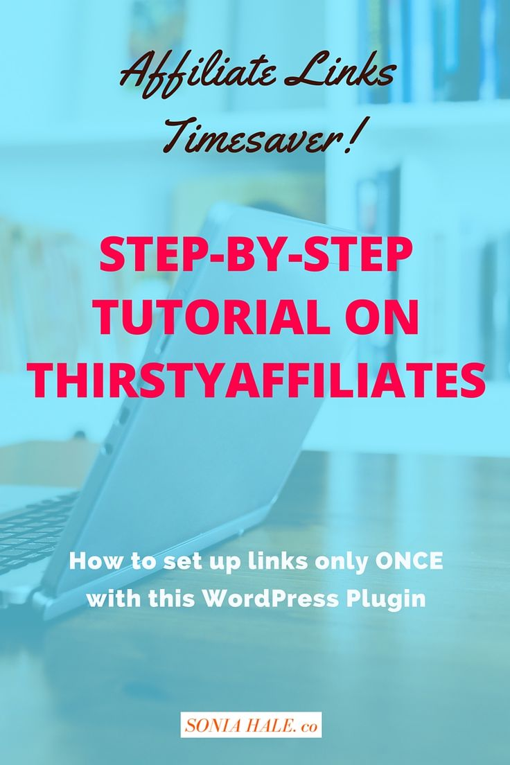 Affiliate Links, How to Guide on Affiliate Links, How to set up Affiliate Links with ThirstyAffiliates