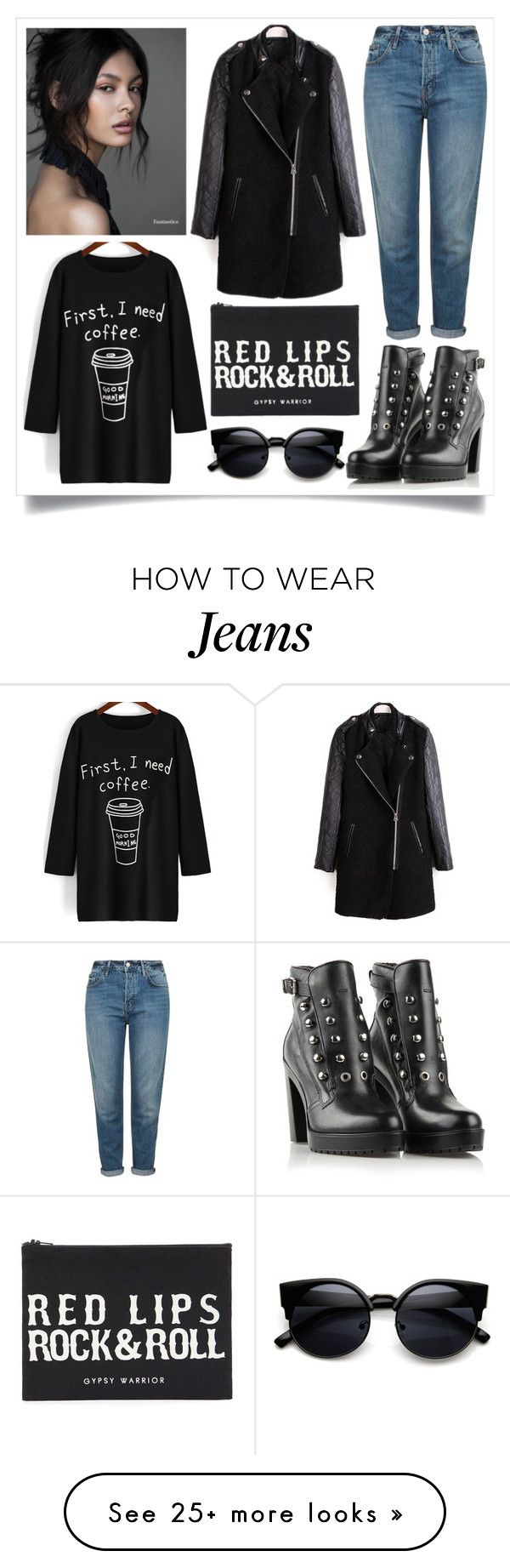"""""""Street Style"""" by madeinmalaysia on Polyvore featuring Topshop, Diesel, Forever 21, women's clothing, women's fashion, women, female, woman, misses and juniors"""