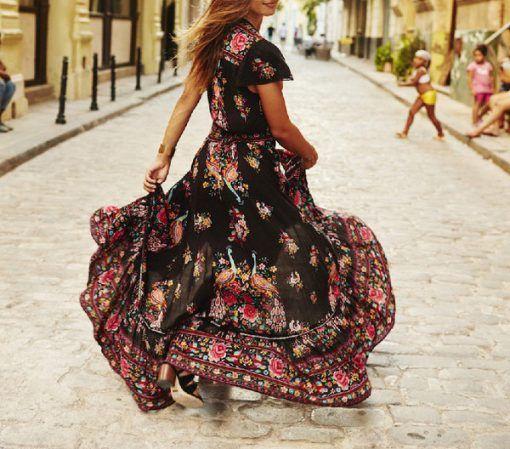 Φόρεμα καλοκαιρινό φλοράλ