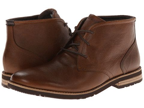 Rockport Ledge Hill 2 Chukka Boot Driftwood (Tan) - Zappos.com Free Shipping