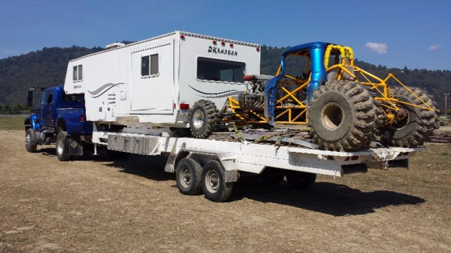 Toy Hauler / 5th Wheel | travel trailers, campers | Kamloops | Kijiji