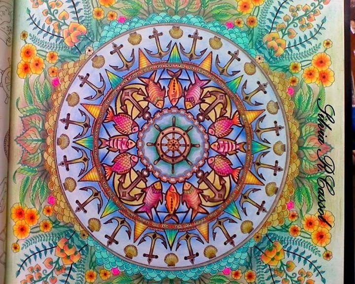 Por Silvia Cassol Johanna BasfordAdult ColoringColoring