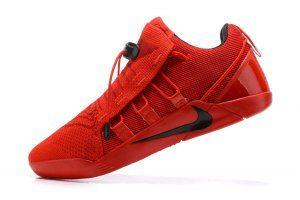 3b2b51385482 Men s Nike Kobe A. D. NXT Flyknit University Red Black 916832 600 boys  Basketball Shoes