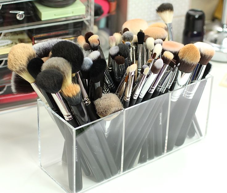 Affordable Makeup Storage Solutions - Collective Beauty                                                                                                                                                     More
