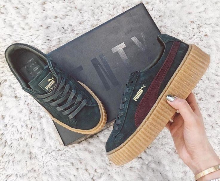 puma by rihanna creepers цена