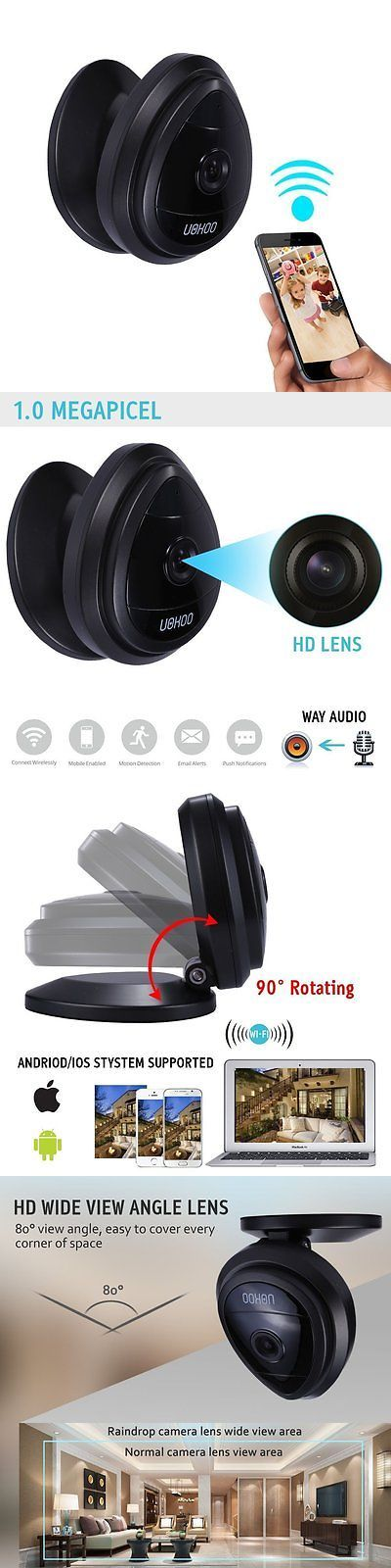 Security Cameras: Mini Wireless Camera, Uokoo Home Wifi Ip Security Surveillance Camera System BUY IT NOW ONLY: $34.58