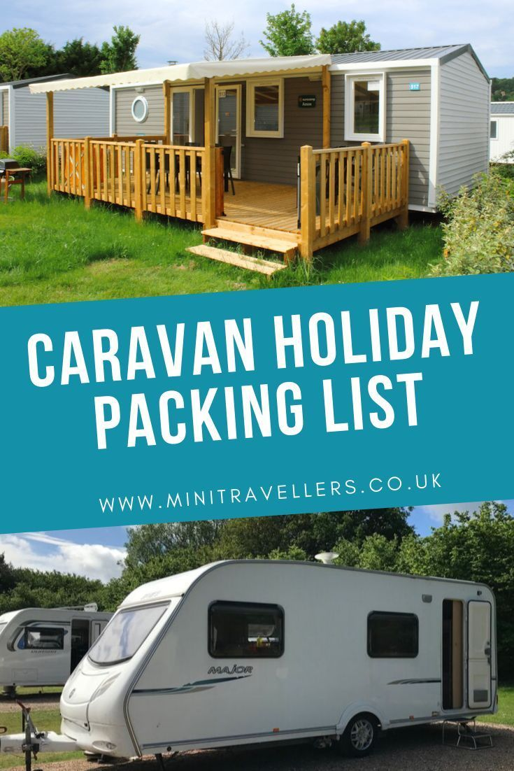 What to Pack for a Holiday in a Caravan – Mini Travellers – Family Travel & Fami