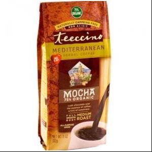 Mediterranean Herbal Coffee Mocha Teeccino 11 oz Powder