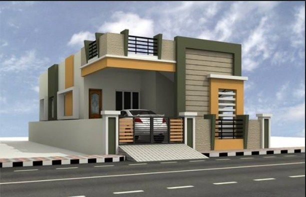 House Front Face Design Independent House Small House Elevation Design Small House Elevation