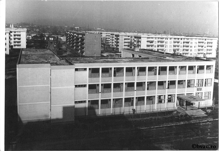 """Cartierul Mazepa - Policlinica, 1967, Galați, România. Imagine din colecțiile Bibliotecii """"V.A. Urechia"""" Galați."""
