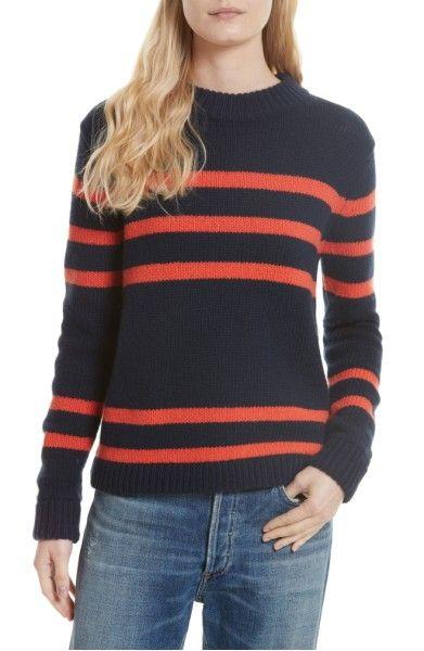 Main Image - Kule Stripe Cashmere Sweater