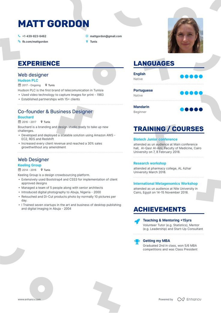 Top graphic designer resume examples samples for 2020