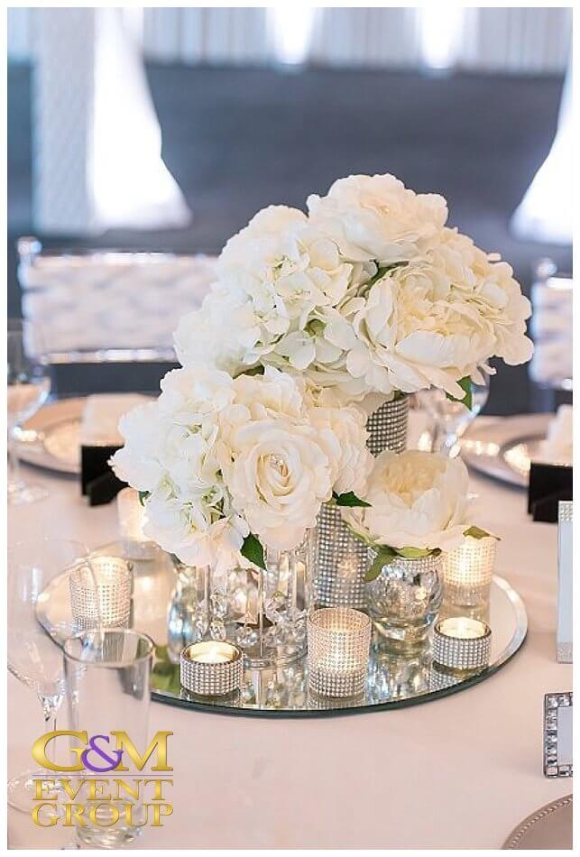 Victoria Park Golf Club Diamonds&Pearls Wedding Reception Styling 1