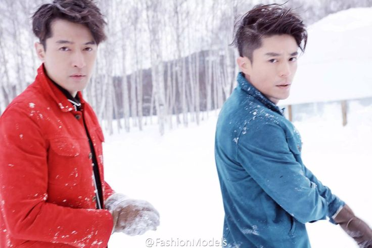 This is probably one of my favorite men's photo shoots yet. Harper's Bazaar has taken to a snowy field to remind us that we were pretty lucky Chinese Paladin 3 put Hu Ge and Wallace Huo…