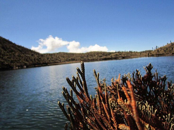 Laguna del silencio, hermoso paisaje