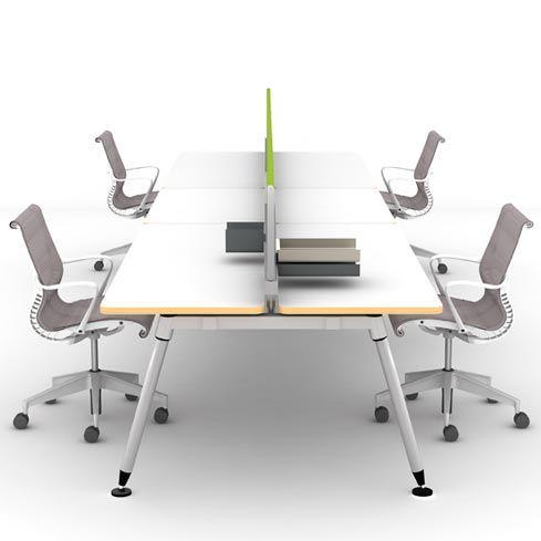Sense Table Herman Miller Inc Silver Certified