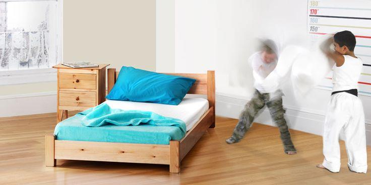 Childrens Low Deco Bed   Warren Evans