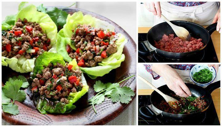 Aprende a hacer paso a paso, una nueva manera sana y rápida de comer carne picada...