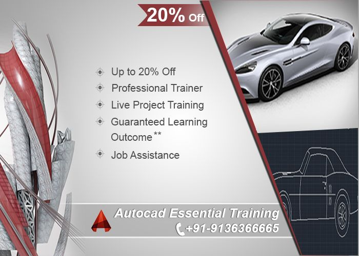 Spectacular AutoCAD Training call for free demo class