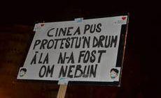 Protest in drum - Bancuri-glume.org
