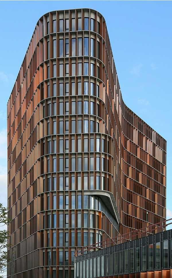 Mærsk Tårnet, udvidelse af Panum-komplekset. C.F. Møller. Photo: Claus Normann Møller