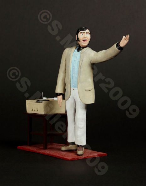 Dangerous Minds | Andy Kaufman 'Mighty Mouse' figurine