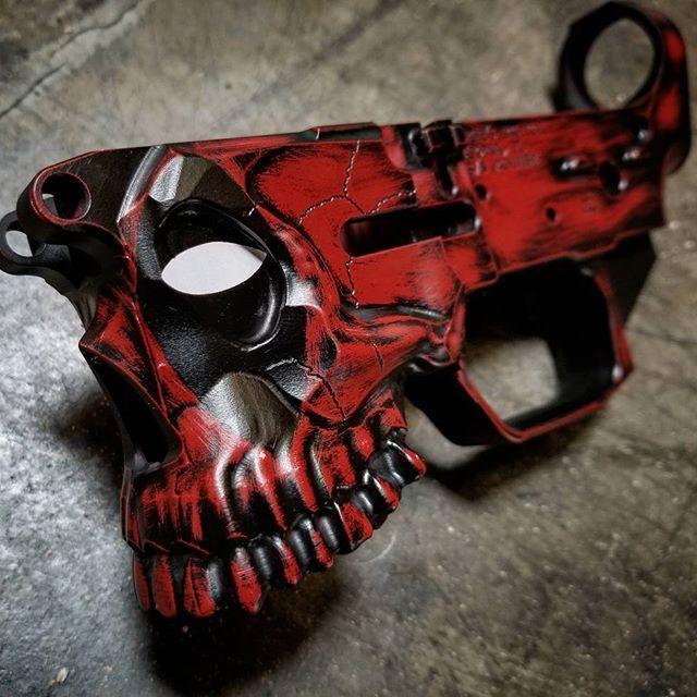 Deadpool themed Jack | Guns | Guns, Custom guns, Ar rifle