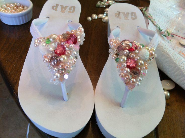 The DIY flip flop designed by me :)