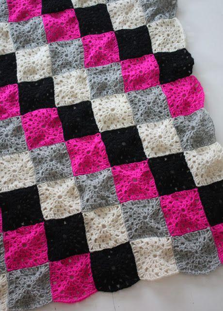 Crocheted blanket  #crochet #blanket